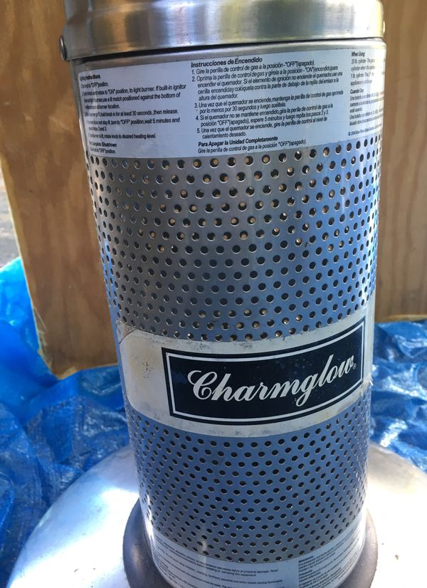 Stainless Steel Tabletop Propane Gas Patio Heater