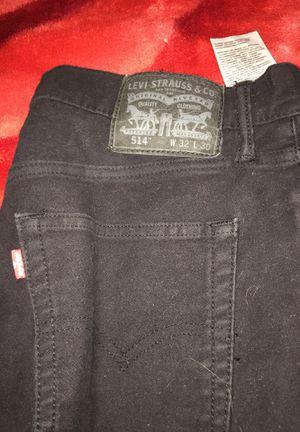 Levi's black pants great condition size L for Sale in Laveen Village, AZ