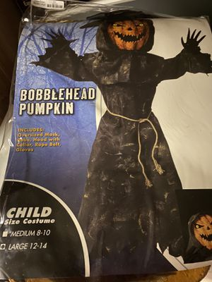 Bobblehead Pumpkin Halloween Costume for Sale in Fombell, PA
