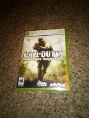 XBOX 360 Call of Duty 4 Modern Warfare for Sale in Lake Hallie, WI