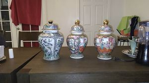 Japanese cover vase collection for Sale in Glendale, AZ
