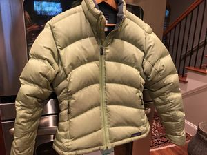 Patagonia Lime green down jacket for Sale in Atlanta, GA