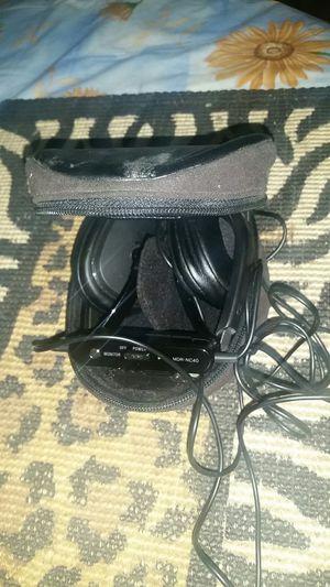 Sony MDR-NC40 Headband Headphones - Black Carring case for Sale in Phoenix, AZ