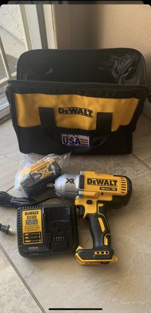 New 20-Volt MAX XR Cordless Brushless High Torque 1/2 in. Impact Wrench w/ Detent Pin Anvil,Battery 4.0Ah,Charger & Tool Bag $270 PRICE IS FIRM for Sale in North Las Vegas, NV