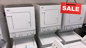 BIG BARGAINS!! Stackable Whirlpool Washer Electric Dryer Set 220v #1535 for Sale in Baltimore, MD