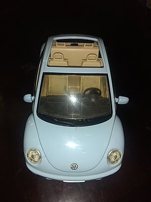 Barbie volkswagen beetle car for Sale in Dalton, GA