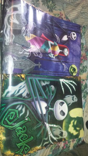 4 nightmare before Christmas posters for Sale in Goldsboro, NC