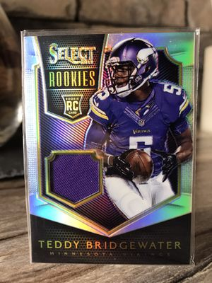 Teddy Bridgewater Select Rookies Prizm /299 for Sale in Prospect, KY