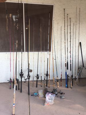 24 fishing rod and more serious buyer confirm price for Sale in North Las Vegas, NV