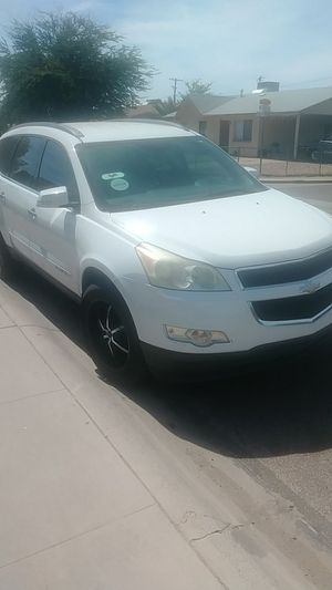 I have a 2009 Chevy Traverse engine bad part everything out text or call if you need anything for Sale in Surprise, AZ