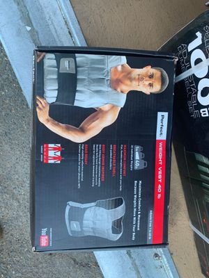 Weight vest for Sale in Sacramento, CA