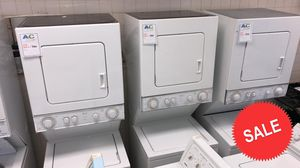 BLOWOUT SALE!Whirlpool Washer Electric Dryer Set Stackable 220v #1535 for Sale in Glen Burnie, MD