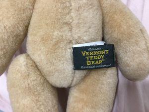 Vermont Teddy Bear Factory Mini Bear for Sale in Elizabeth, NJ