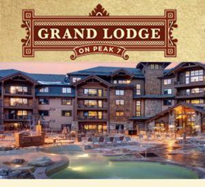 Grand Lodge Peak 7 one week flexible between spring and Christmas for Sale in Breckenridge, CO