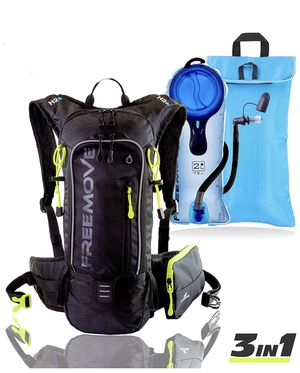 Hydration Pack Backpack with 2 Liter Water Bladder and Cooler Bag, for Sale in Odessa, FL