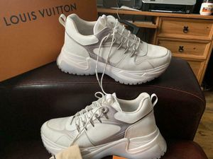 """Louis Vuitton """" run away pulse white monogram"""" size 13 for Sale in Tampa, FL"""