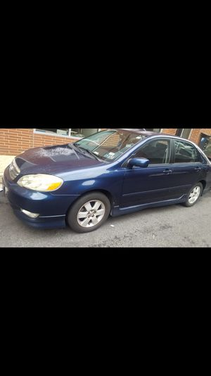 2003 Toyota Corolla S for Sale in Hyattsville, MD