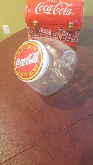 Vintage Coca-Cola candy cookie jar for Sale in Gilbert, AZ
