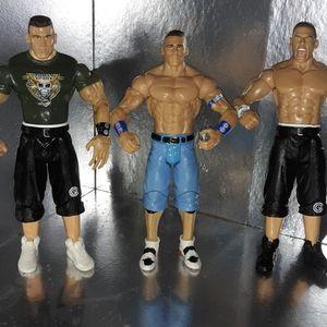 Lot of 3 John Cena Figures for Sale in Houston, TX
