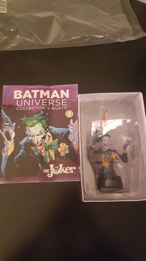 Eaglemoss DC Joker Universe Collector's Busts #2 for Sale for sale  Queens, NY