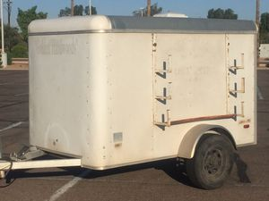 Pace 5x8 enclosed trailer with ladder/hose racks for Sale in Mesa, AZ