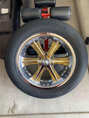 Rims w/ tires for Sale in Sierra Vista, AZ