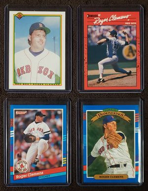 4 Roger Clemens Baseball Cards for Sale in Westland, MI