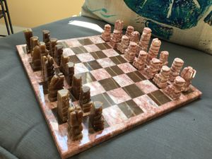 Mexican marble Chess set for Sale in Cumming, GA