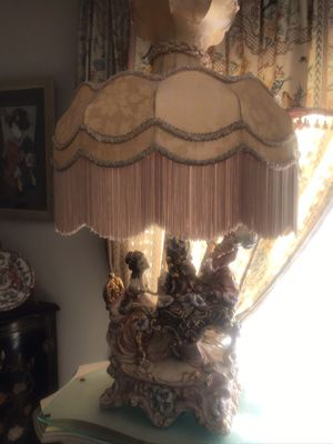 Capodimonte lamp for Sale in Riverside, CA