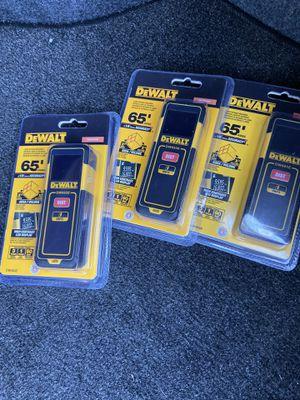 DeWalt digital measuring 65' range $30 firm for Sale in Houston, TX