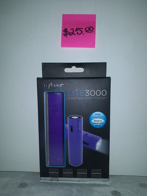 Tenergy Lite 3000 Mobile Power Bank & FlashLight for Sale in San Angelo, TX
