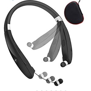 Bluetooth Headphones, Wireless Headset Retractable Earbuds Neckband Earphones Compatible with iPhone Android & Other Bluetooth Enabled Devices for Sale in Corona, CA
