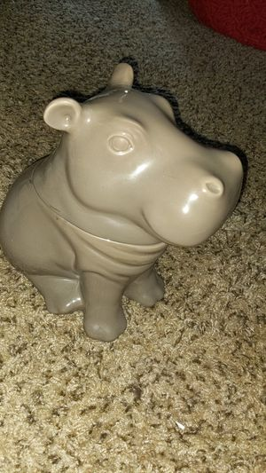 Hippo cookie jar for Sale in Lakewood, CO