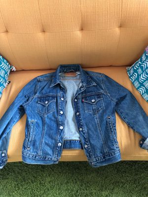 Women's Levi-Strauss Denim Jacket (cropped size small) for Sale in Washington, DC