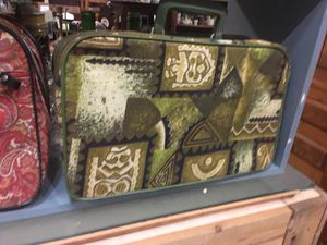 Antique vintage bohemian boho luggage overnight bag for Sale in San Diego, CA