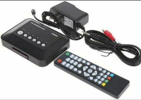 MP018-F10 1080P HD Media Player with HDMI/SD Card Slot/AV Port