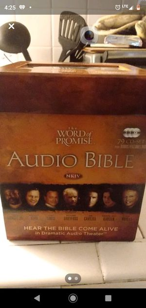 The Bible on CD. for Sale in Columbia, SC