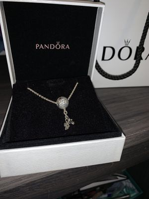 Pandora Minnie Mouse charm with chain necklace for Sale in Dundee, FL