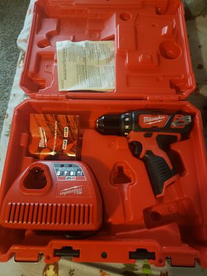 New m12 drill with charger for Sale in Richmond, CA