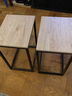2 side tables for Sale in Arlington,  VA