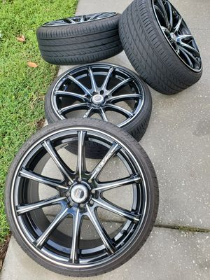 New rims 18 8 hole universal for Sale in Leesburg, FL