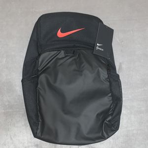Nike Brasilia X-Large Backpack 30L Sports Bag - Black/University Red - BA5959-01 for Sale in Chicago, IL