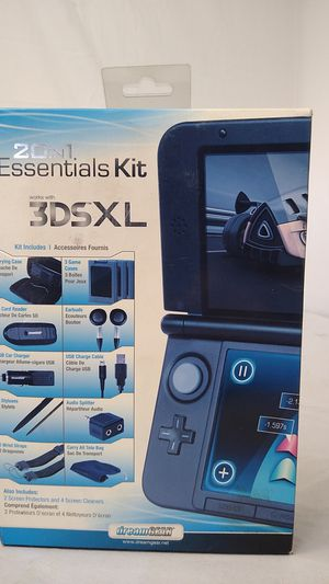 Nintendo 3DS XL 20-in-1 Essentials Kit NIB NEW for Sale in Bakersfield, CA