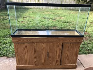 55 gallon tank + stand for Sale in Wichita, KS