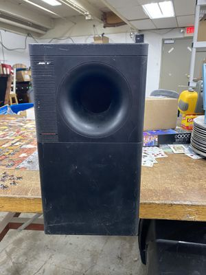 Bose Acoustimass 10 Home Theater Speaker System Sub for Sale in Clifton Heights, PA
