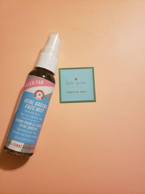 First aid beauty vital greens face mist for Sale in Jetersville, VA