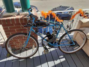 "26"" FUJI steel frame, 49cc motorized bike for Sale in Methuen, MA"