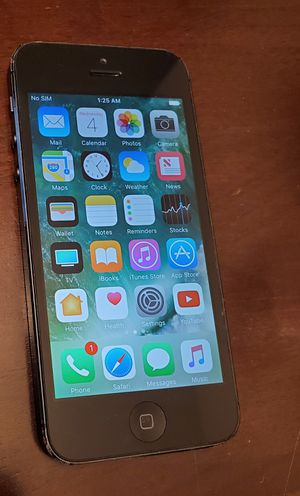 iphone 5 - A1428 - phone only (see pics for condition) for Sale in San Diego, CA