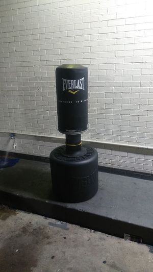 Moving.. Must sell Everlast punching bag with stand. Great working condition $55 OBO for Sale in Dallas, TX
