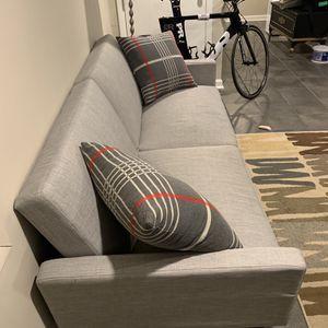 Gray Futon sofa for Sale in Philadelphia, PA